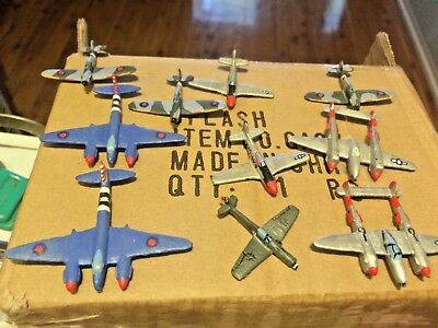 MicroArmour 15 WW2 Aircraft and Stands