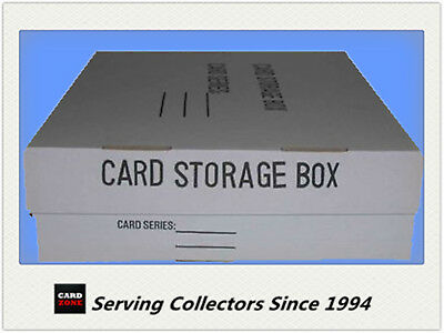 3200-Regular Card Strong Cardboard Storage box unit of 6 - Collectable Card