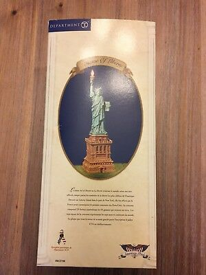 Department 56 American Pride The Statue Of Liberty 56.57708 complete set