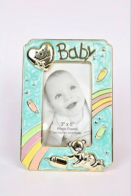 Baby 3x5 Colorful Bear Photo Frame