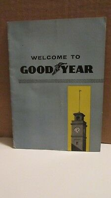 1956 Welcome To Goodyear Booklet - Akron, Ohio