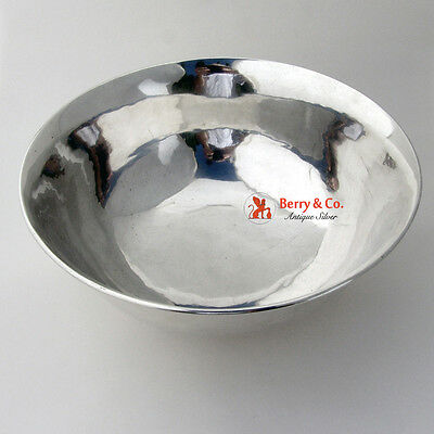 Arts and Crafts Large Bowl Arthur Stone Sterling Silver