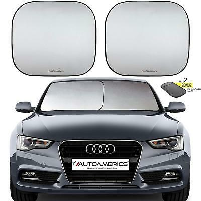 Windshield Sun Shade Pieces of Foldable Car Sun Blocker Keeps Your Vehicle Cool