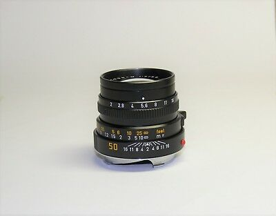 Leitz Summicron M 50mm f2 Black Attrappe Dummy Lens with Original Box Leica