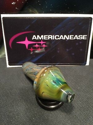 Heady Boro Glass Americanease Space Tech XL Spaced Out Bubble Carb Cap USA Made
