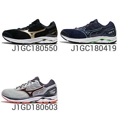 huge discount 8aa87 42abf Mizuno Wave Rider 21 Wide Mens Womens Triple Zone Running Shoes Sneakers  Pick 1