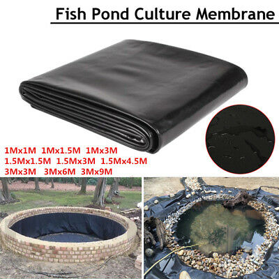 Fish Pond Liner Garden Pools HDPE Membrane Reinforced Guaranty Landscaping