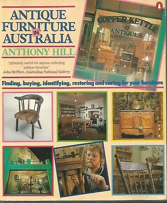 ANTIQUE FURNITURE by Hill COTTAGE CHAIRS by Cuffley AUSTRALIAN FURNITURE 2 BOOKS
