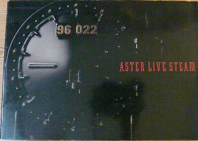 Aster Live Steam Models Catalogue