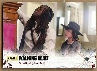 Questioning Her Past#50 The Walking Dead Season 4 Pt1 Cryptozoic 2016 Card C1695