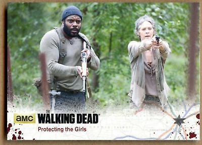 Protecting The Girls#65 The Walking Dead Season4 Pt 1 Cryptozoic 2016 Card C1695