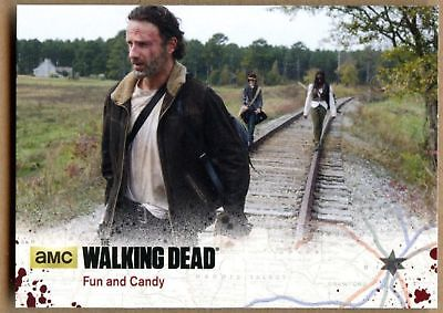 Fun And Candy #69 The Walking Dead Season 4 Pt 1 Cryptozoic 2016 Card (C1695)
