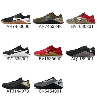 ca31f449ffb9d Nike Metcon 4 IV Men CrossFit Training Lifting Gym Trainers Shoes Sneaker  Pick 1