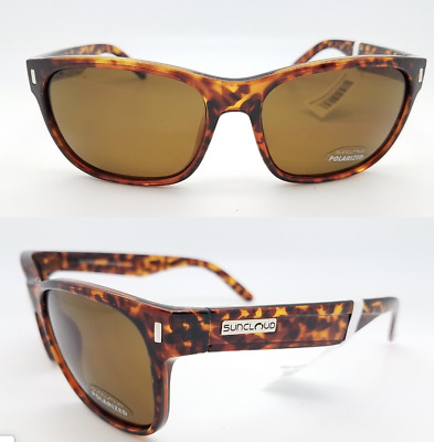 8e185f4a587 SUNCLOUD Dashboard Polarized Sunglasses TORTOISE SHELL Brown Lenses    49.95