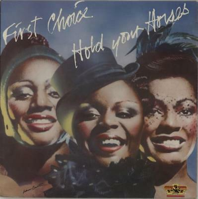 First Choice Hold Your Horses UK vinyl LP album record SSLP1514 SALSOUL 1979