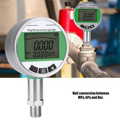 0-1.6MPA Digital Stainless Steel Hydraulic Pressure Gauge with M20*1.5 Connector