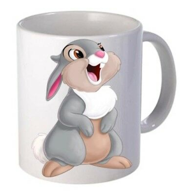 Personalised Disney Character Name Mug. Bambi thumper