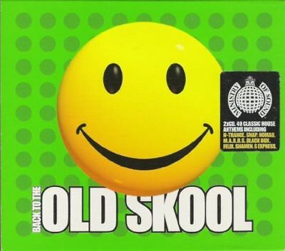 BACK TO THE OLD SKOOL various (2X CD, compilation) breakbeat, hardcore, techno
