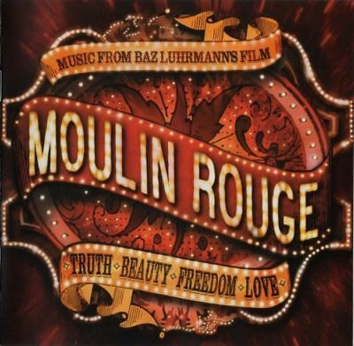 MOULIN ROUGE music from baz luhrmann's film (CD, album, 2001) soundtrack, ost
