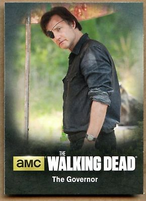 The Governor #C09 The Walking Dead Season 4 Pt 1 Character Bio Chase Card C1698