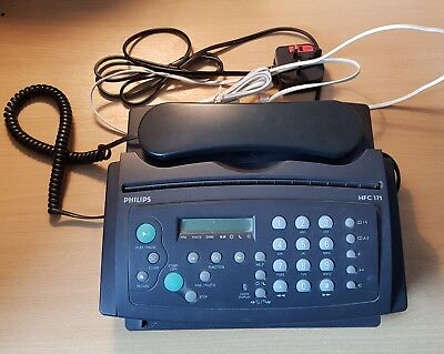 Philips HFC171 Compact 5-In-One Phone Fax Machine - free UK postage