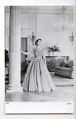 r3106 - Young Queen Elizabeth II in a Lovely Evening Dress - postcard - Tuck's