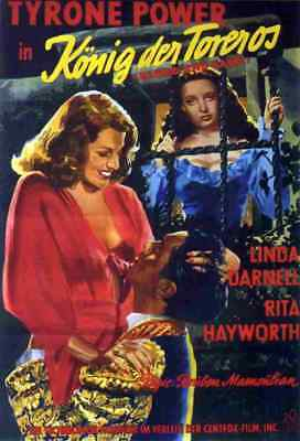 Blood and Sand 1941 09 Film A3 Box Canvas