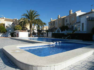 For Sale Holiday Home Costa Blanca Benijofar Townhouse 2 Bedrooms Pool Terrace