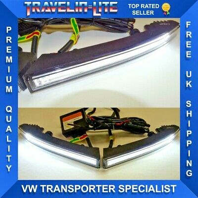 VW T5.1 T6 Transporter Light Bar DRL Lamps & Module Great Quality Brand New