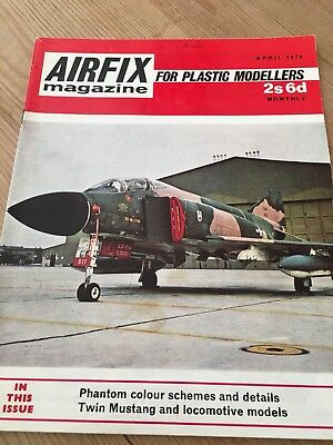 Airfix Magazine April 1970 - United States Air Force Phantom Cover