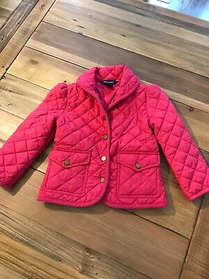 ralph lauren girls 4t Quilted Jacket
