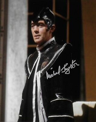 Photo - Michael Jayston in person signed autograph - Doctor Who