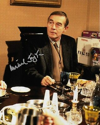 Photo - Michael Jayston in person signed autograph - Only Fools and Horses