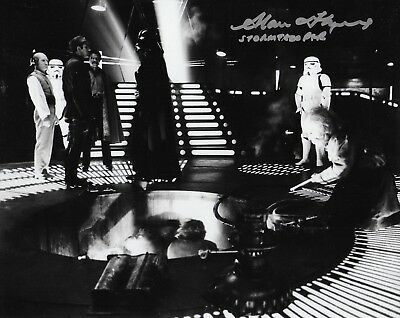 Photo - Alan Flyng in person signed autograph - Star Wars