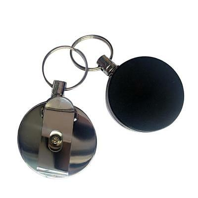 Safety Retractable Holder Badge Lanyard Reel Key Card ID Name Tag Belt Clip TOP