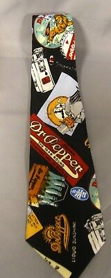 "Dr Pepper Tie By Nicole Miller ""1996"""