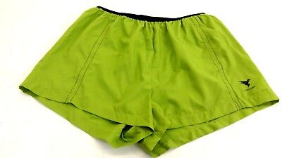 Insport Womens Lime Green Athletic Breathable Running Shorts Size L