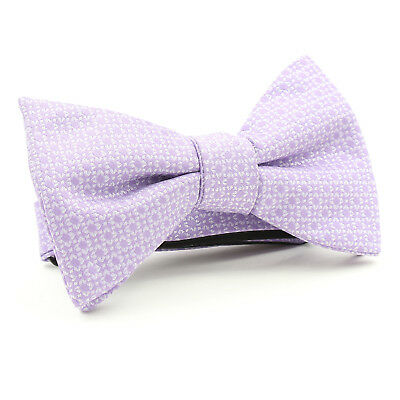 Alfani Men's Ludlow Geometric Satin Bow Tie-New Without Tags (Purple)