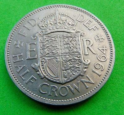 POPULAR  DATE  UNC  * 1964 *  HALFCROWN  ....from  LUCIDO_8  COINS