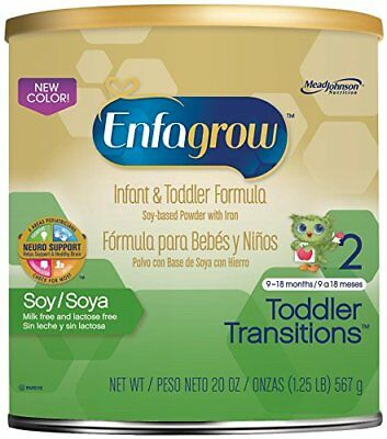 Enfagrow Soy Toddler Transitions, Soy-Based Powder with Iron