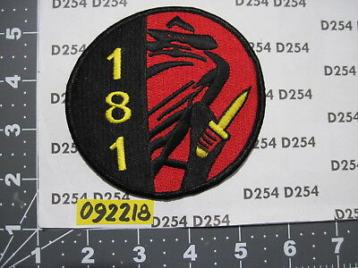 Special Forces Group Operational Detachment Alpha A ODA-181 Patch 1st SFG