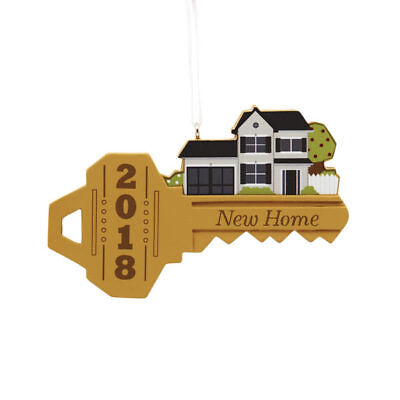 Hallmark New Home Key Dated Ornament 2018