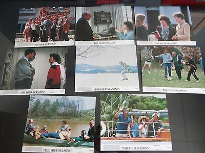 1981 The Four Seasons Movie Complete Set of 8 Color Lobby Cards