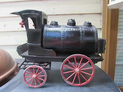 Vintage Antique Salesman Sample? Gasoline Automotive Petrolena Horse Drawn Veh