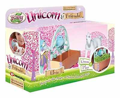 My Fairy Garden Unicorn and Friends Play Set Grow Real Seeds Fun Activity Nature