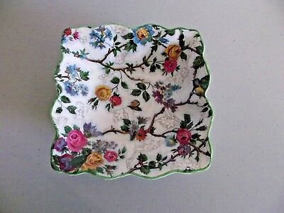 Lorna Doone Bird Midwinter Chintz Candy Dish, England