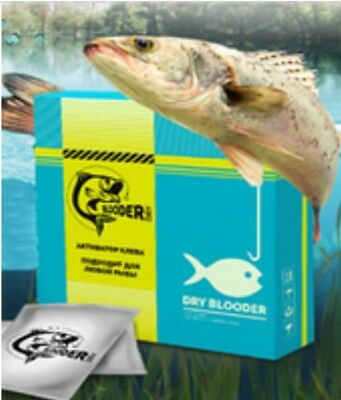 Dry Blooder-Bait Activator for Successful Fishing Attract