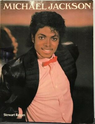 Vintage 80s Michael Jackson Magazine Book By Stewart Regan Color B&W Jackson 5