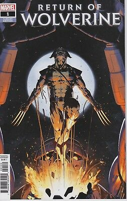 Return of Wolverine #1 1:25 Christopher Variant Actual Scans NM