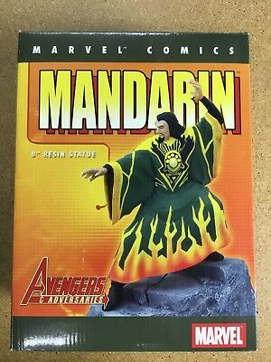 "MARVEL COMICS MANDARIN 8"" RESIN STATUE (Diamond Select, 2002)"